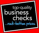 Checks for Business Logo